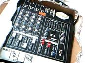 GTD AUDIO BM-224 POWERED MIXER 4 Channel